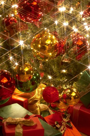 クリスマスの装飾のための様々 な観賞用。