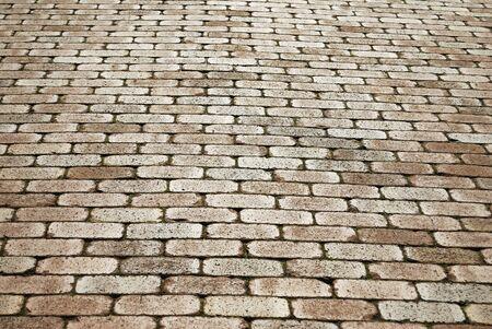 れんが造りの床が多くされます。 写真素材