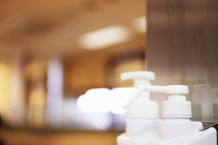 disinfectant: El desinfectante en el almac�n.