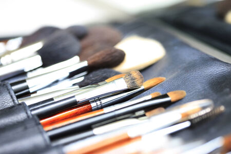 esthetics: Many kinds of tool for makeup.