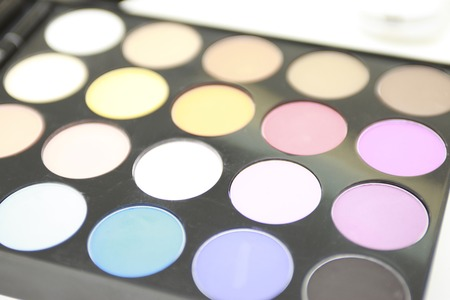 esthetics: The palette on which the color of much gets for make up.