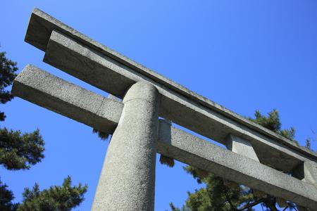 torii: Torii Stock Photo