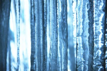 the natural phenomena: Icicle