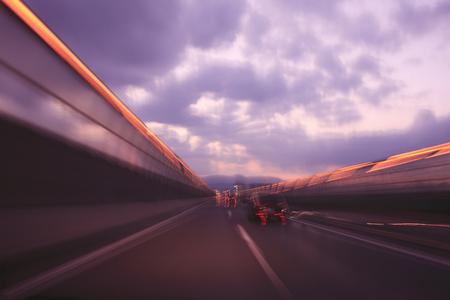 high speed: High speed road