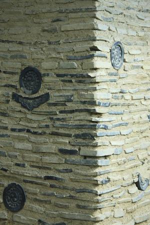 earthen: Earthen walls