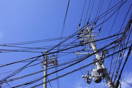 utility pole: Utility pole