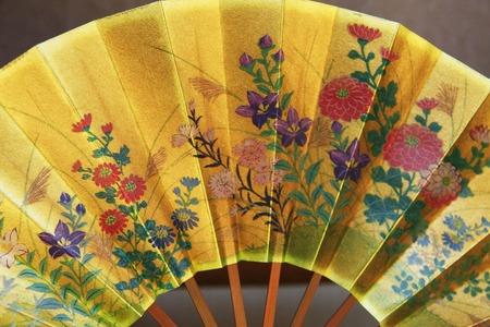 noh: Folding fan