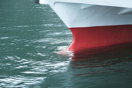 pleasure ship: Lake Ashi sightseeing boat Stock Photo