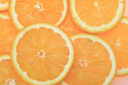 off cuts: Orange slice