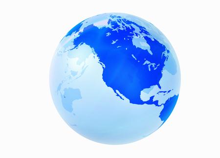 the americas: Globes Americas