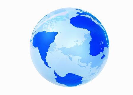 hemisphere: Globe, the Southern Hemisphere