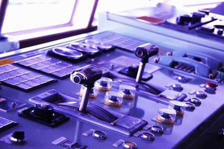 wheelhouse: Wheelhouse Stock Photo