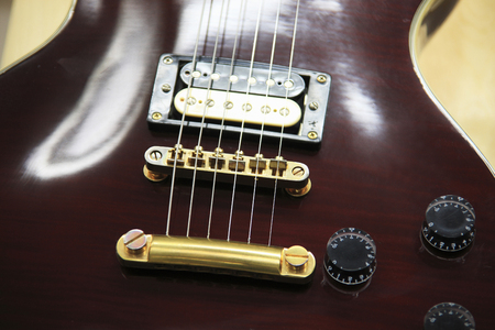 rythm: Electric guitar Stock Photo