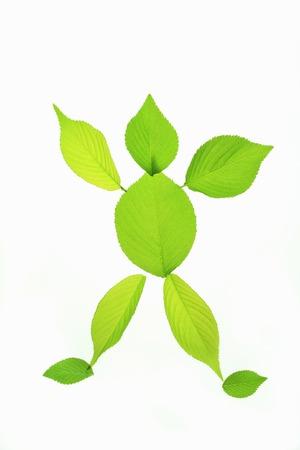 hurray: Fresh green doll