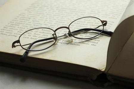 inquiry: Glasses and books