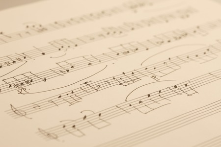 notation: Sheet music