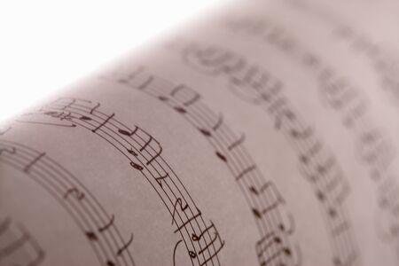 laken: Sheet music