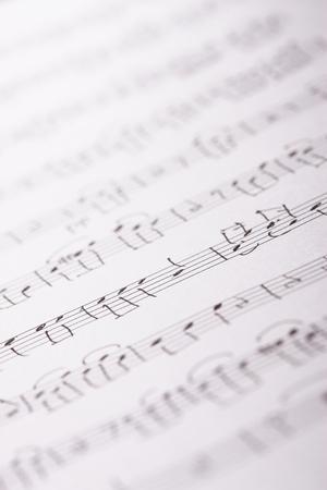 laken: Bladmuziek