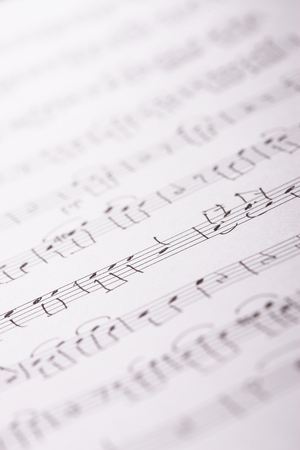 musical score: Sheet music