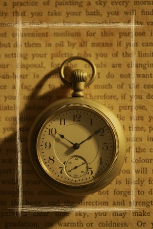 retrospective: Pocket Watch Stock Photo