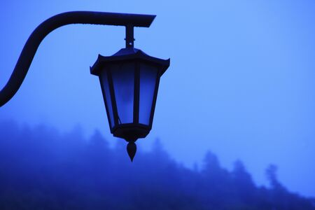 streetlights: Fog and streetlights