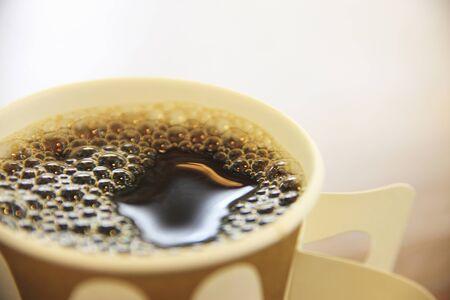 tazzina caff�: Tazza di caff� Archivio Fotografico