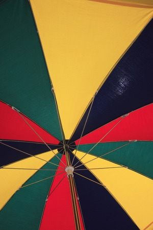 awnings: Umbrellas Stock Photo