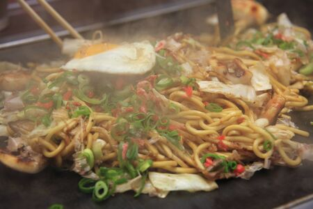 source of iron: Yakisoba noodles