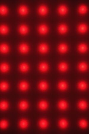 electrical materials: Red light Stock Photo