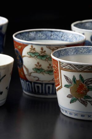 tableware life: Imari ware Stock Photo