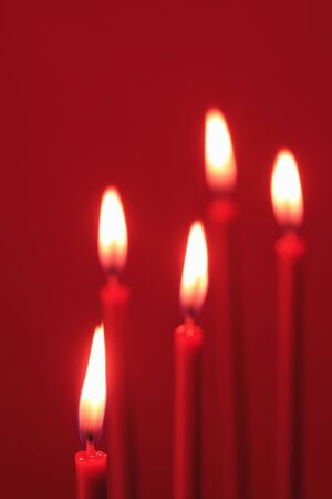 hot date: Candle Stock Photo
