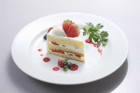 strawberry cake: Strawberry cake