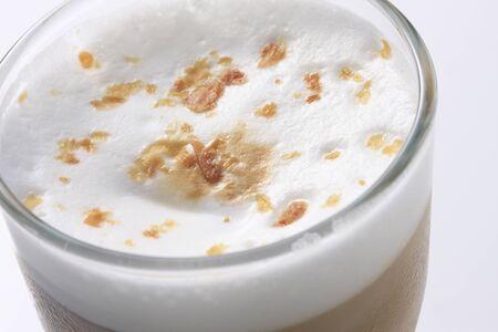 hazelnut latte Stok Fotoğraf