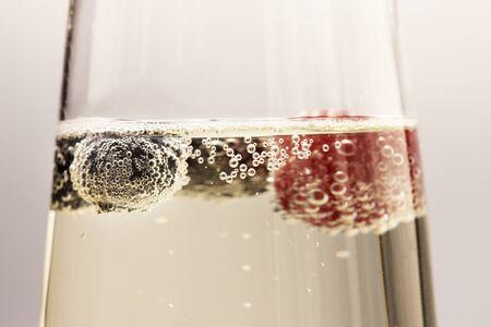 bubble acid: Soda water