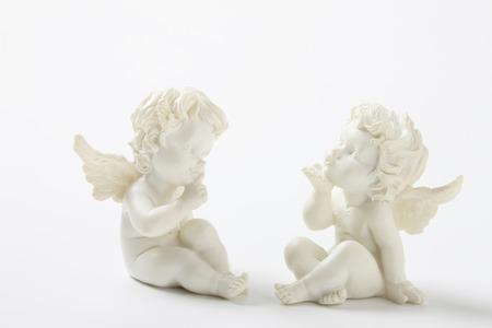 Plaster figure of an Angel