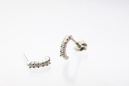 pierce: Pierced earrings
