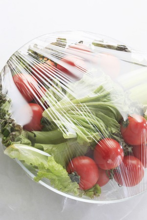 Wrap of salad