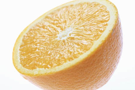 disconnection: Navel orange Stock Photo