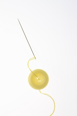 houseware: Buttons and thread and needles