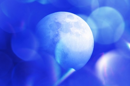 background material: Moon Stock Photo