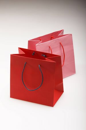 swagger: Red and pink paper back Stock Photo