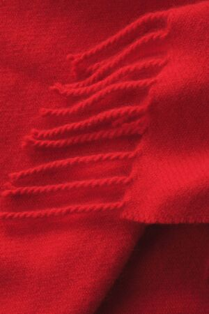 red scarf: Red scarf