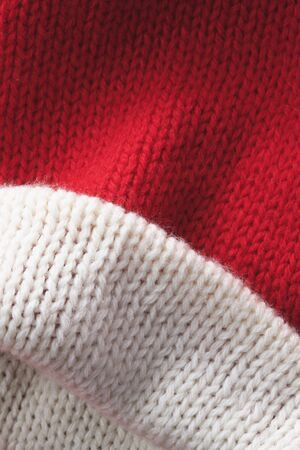 neatness: Red knit hat