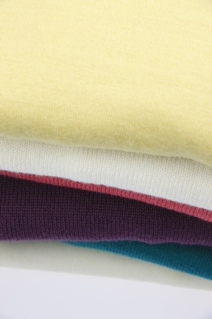 furl: Folded sweaters