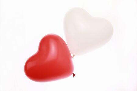 levitate: Heart balloons