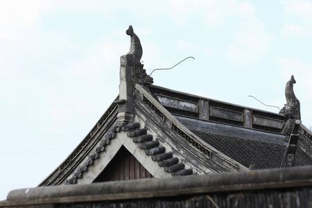 roof tile: Roof tile Stock Photo