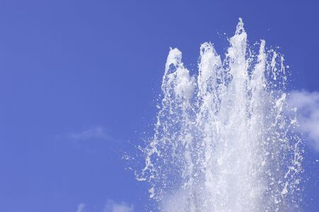 spurt: Fountain Stock Photo