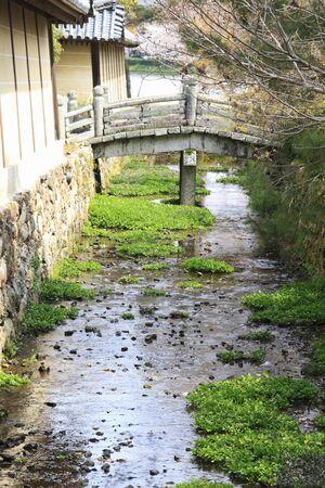 moat wall: Daikakuji