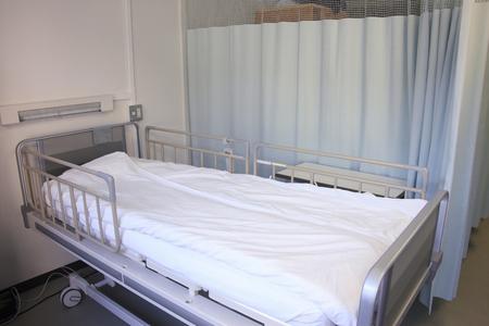 fostering: Hospital bet Stock Photo