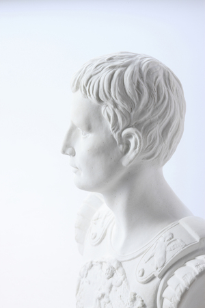 ancients: Plaster image Stock Photo